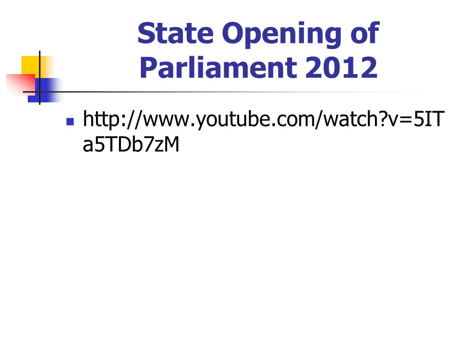 State Opening of Parliament 2012