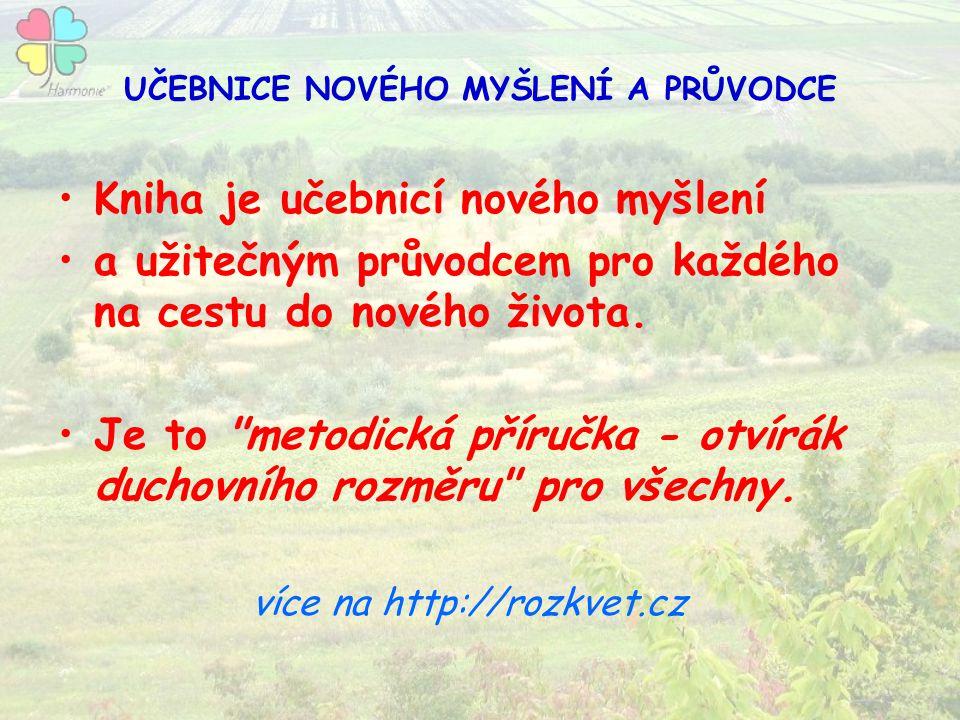 UČEBNICE NOVÉHO MYŠLENÍ A PRŮVODCE