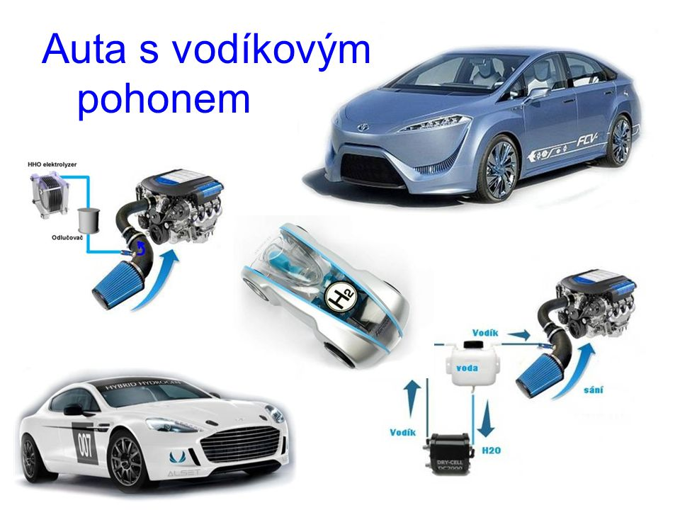Auta s vodíkovým pohonem