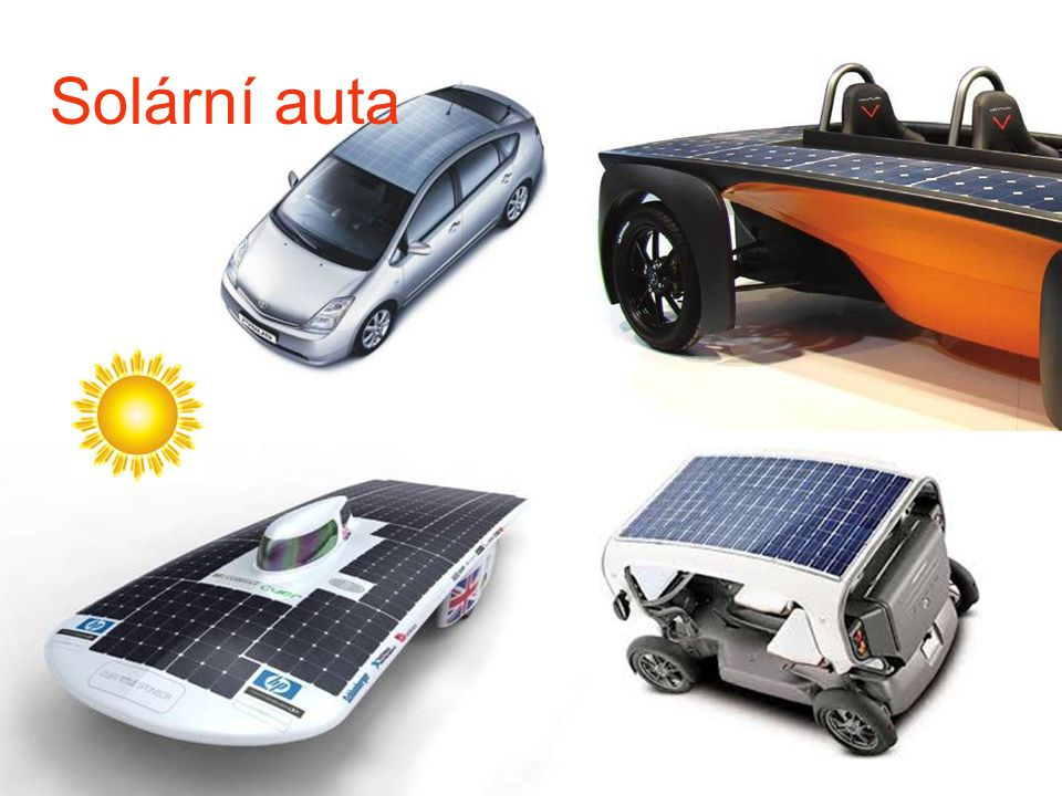 Solární auta