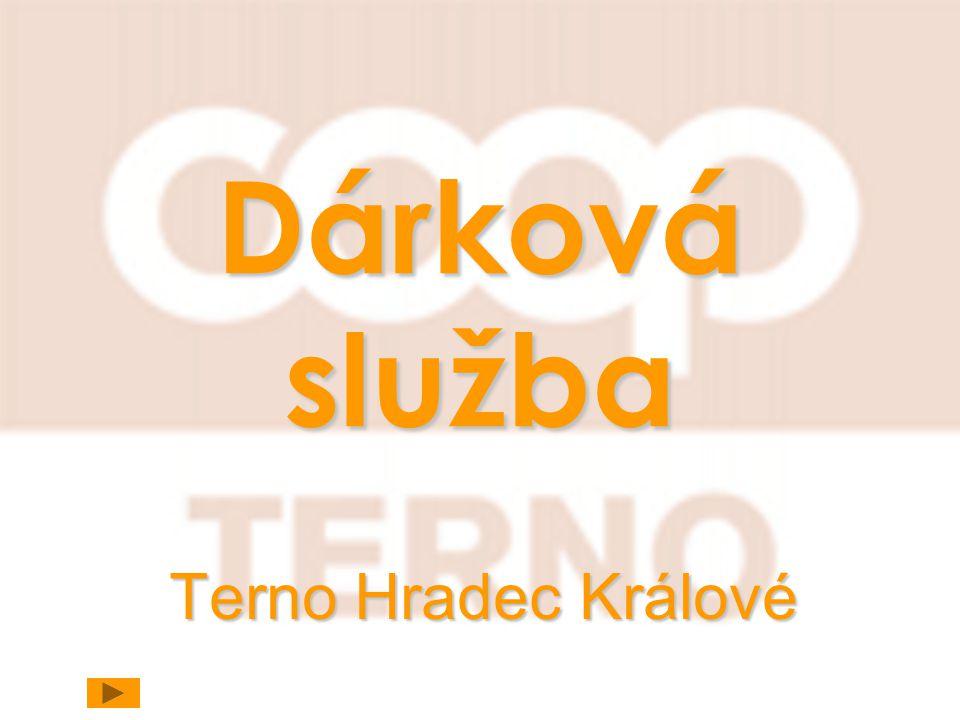 Dárková služba Terno Hradec Králové