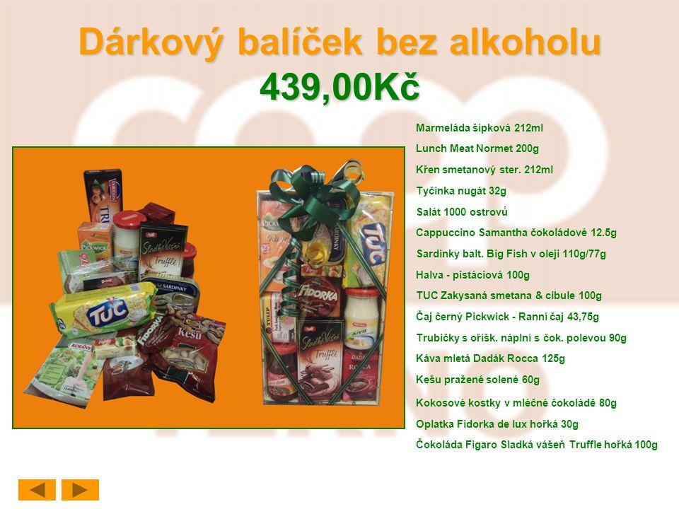 Dárkový balíček bez alkoholu 439,00Kč