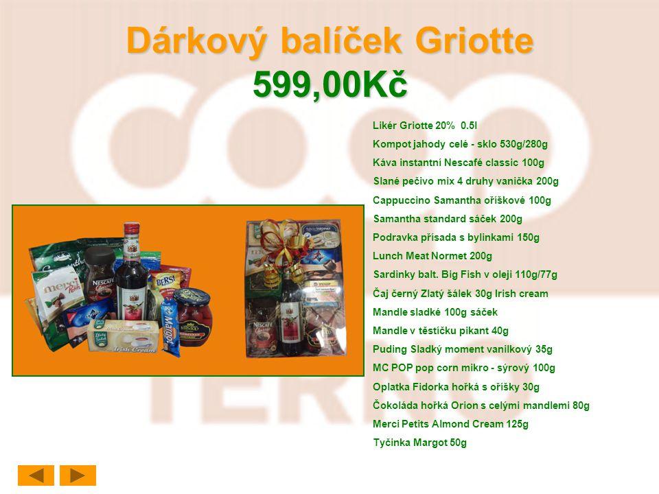 Dárkový balíček Griotte 599,00Kč