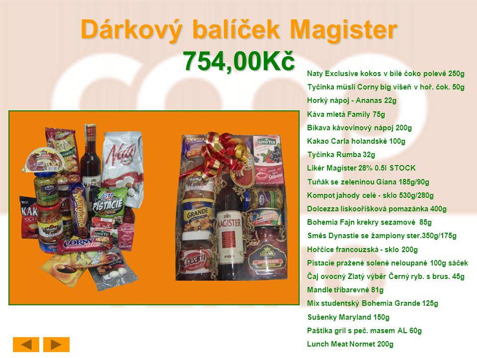 Dárkový balíček Magister 754,00Kč