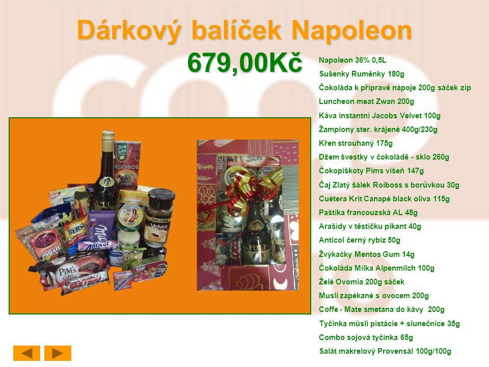 Dárkový balíček Napoleon 679,00Kč
