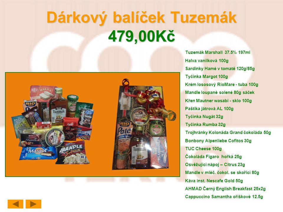 Dárkový balíček Tuzemák 479,00Kč
