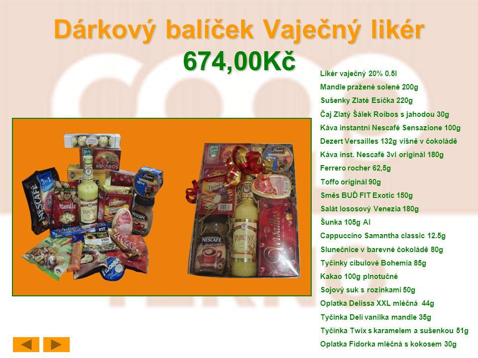 Dárkový balíček Vaječný likér 674,00Kč
