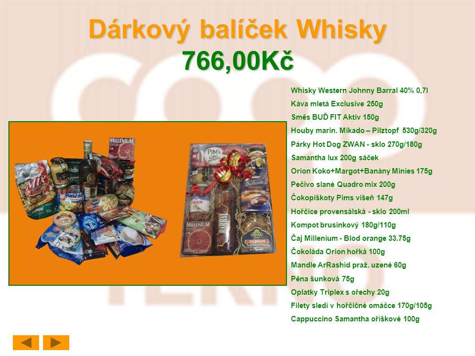 Dárkový balíček Whisky 766,00Kč
