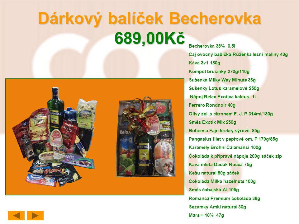 Dárkový balíček Becherovka 689,00Kč