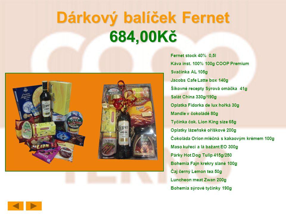Dárkový balíček Fernet 684,00Kč
