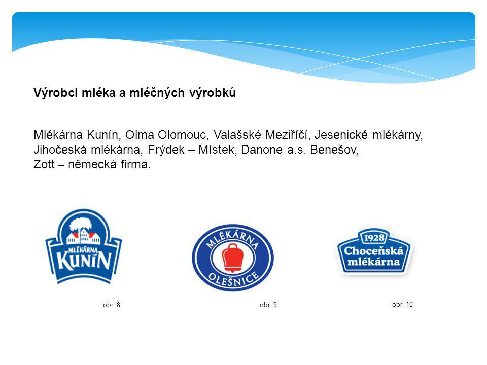 Výrobci mléka a mléčných výrobků