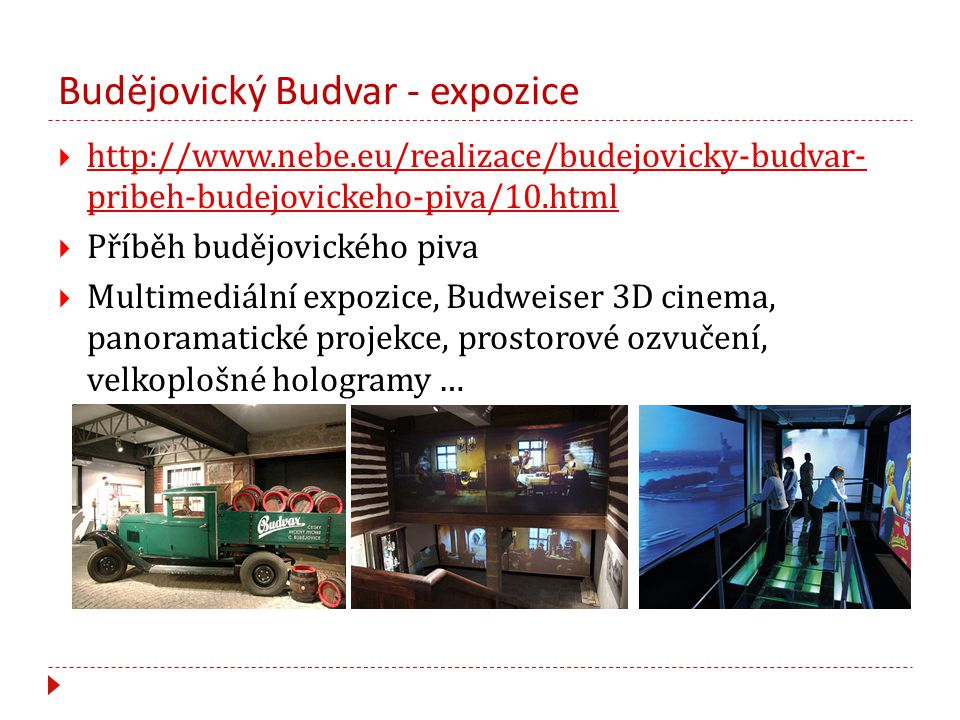 Budějovický Budvar - expozice