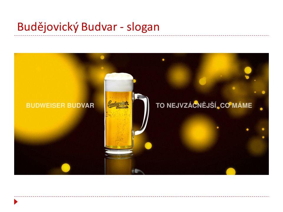 Budějovický Budvar - slogan