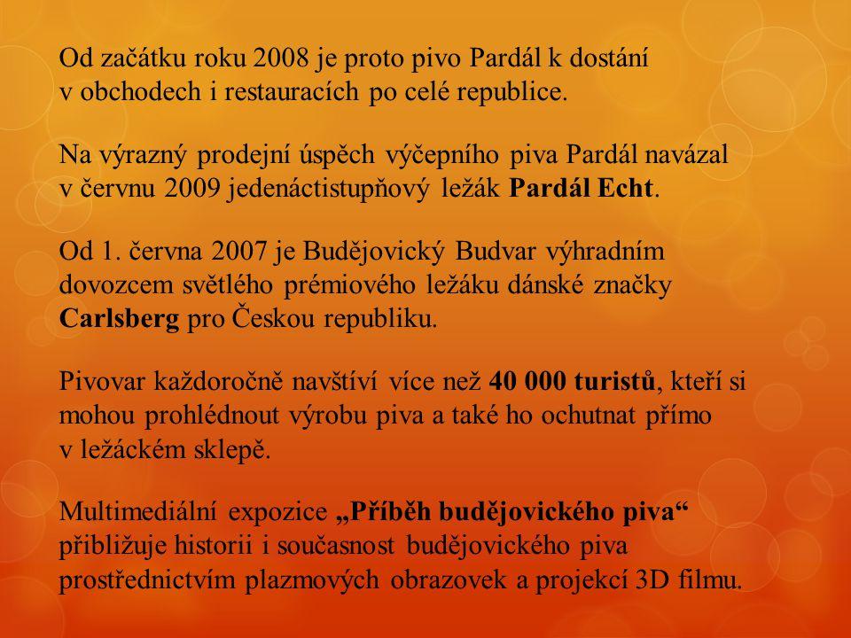 Od začátku roku 2008 je proto pivo Pardál k dostání v obchodech i restauracích po celé republice.