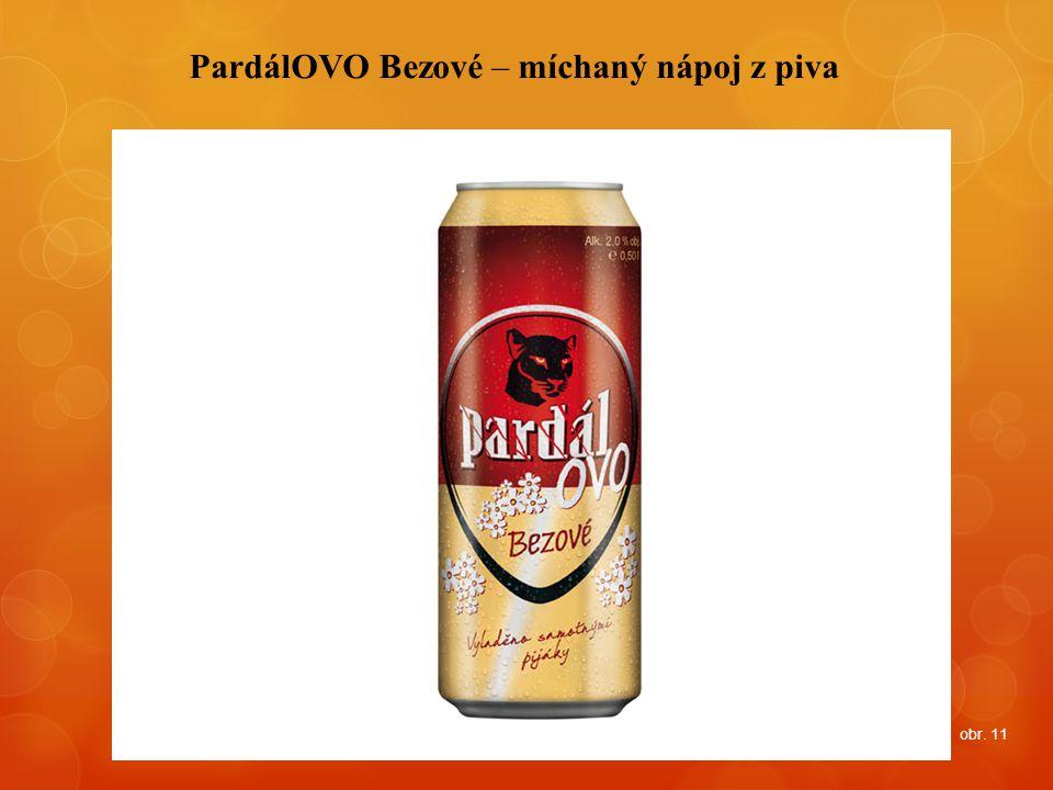 PardálOVO Bezové – míchaný nápoj z piva