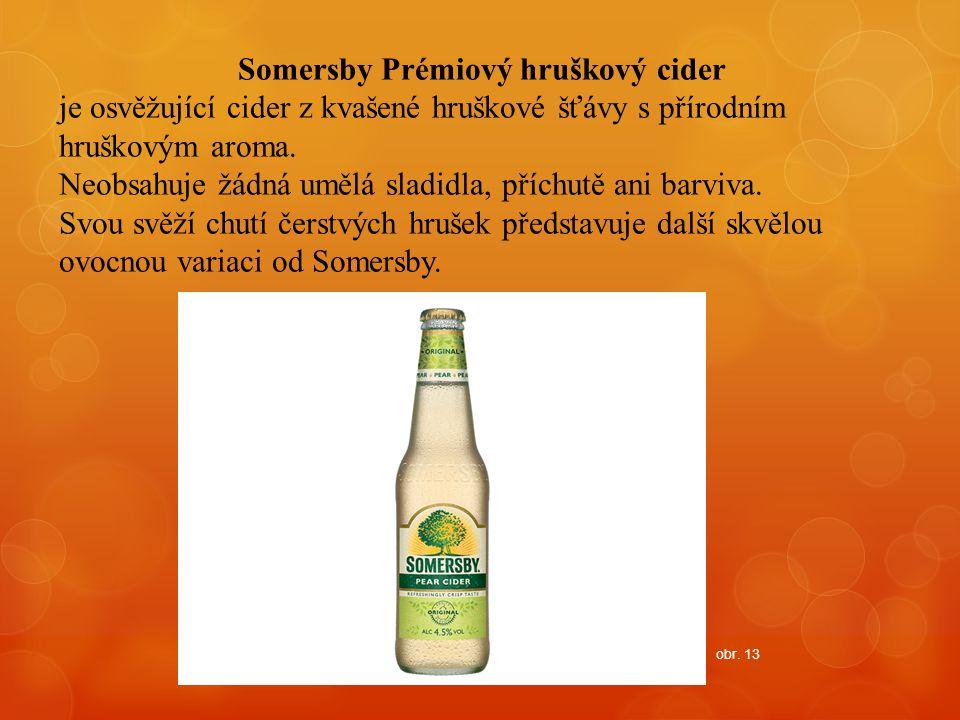 Somersby Prémiový hruškový cider