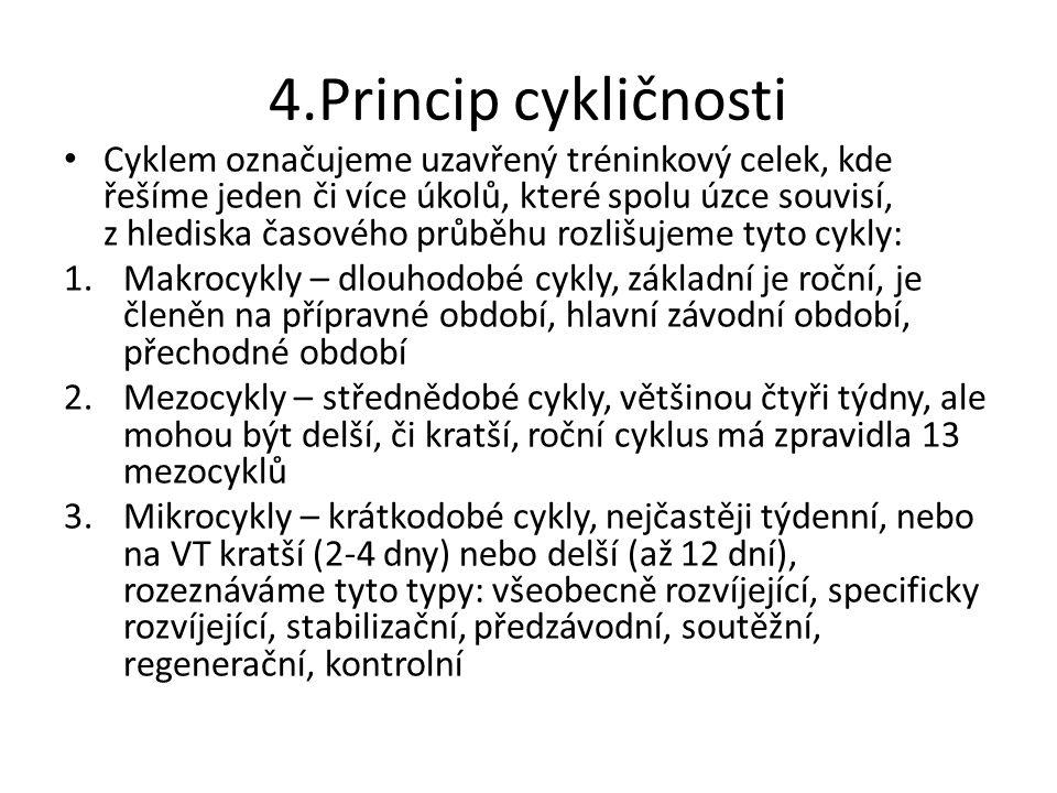 4.Princip cykličnosti