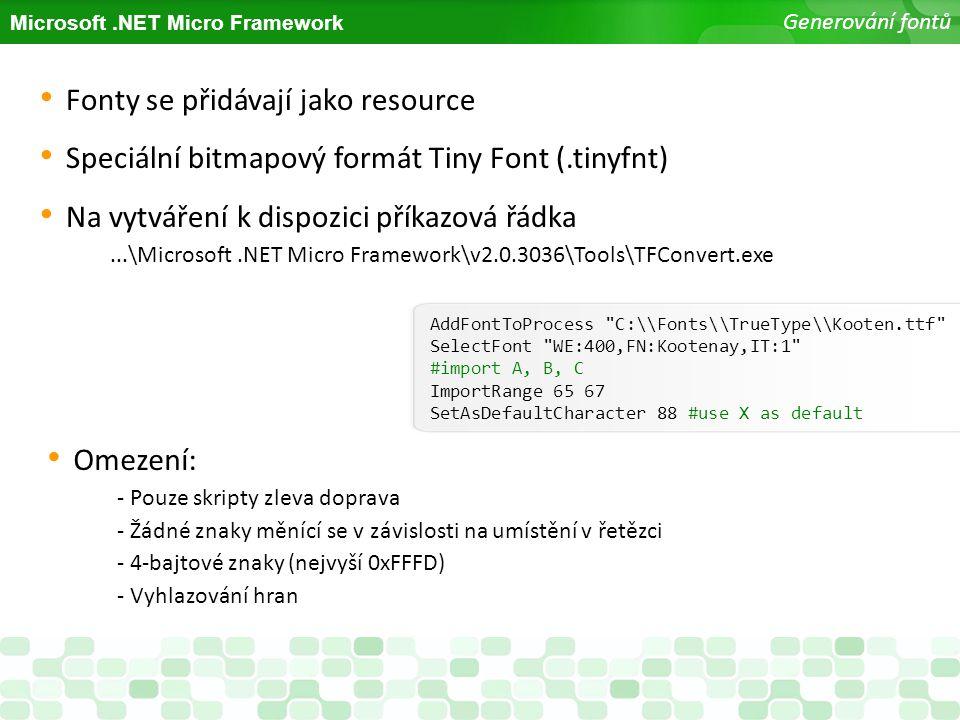 Fonty se přidávají jako resource