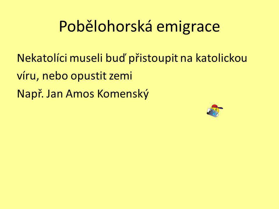 Pobělohorská emigrace