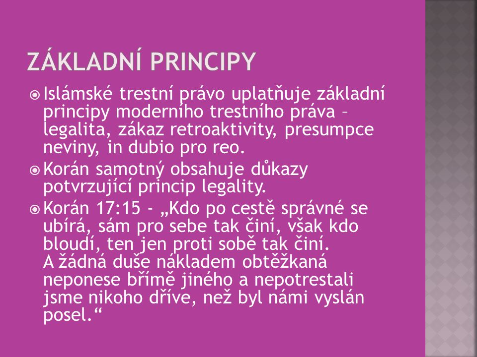 Základní principy