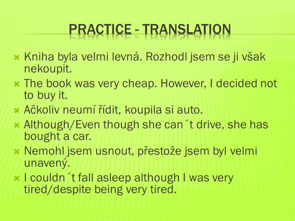 Practice - translation