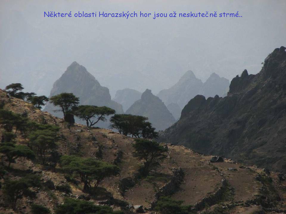 Některé oblasti Harazských hor jsou až neskutečně strmé..