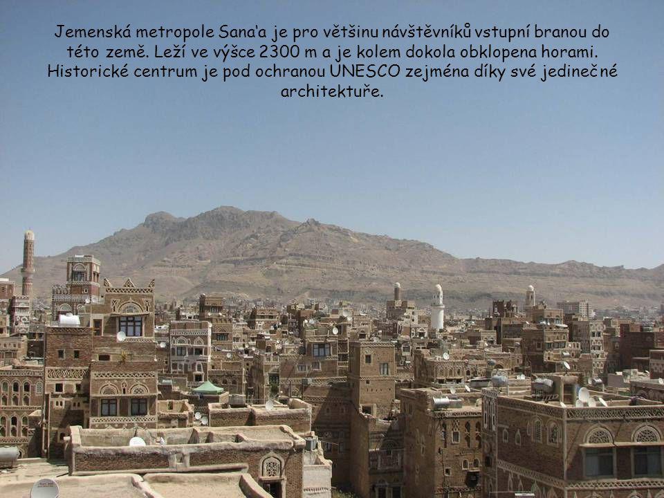 Jemenská metropole Sana'a je pro většinu návštěvníků vstupní branou do této země.