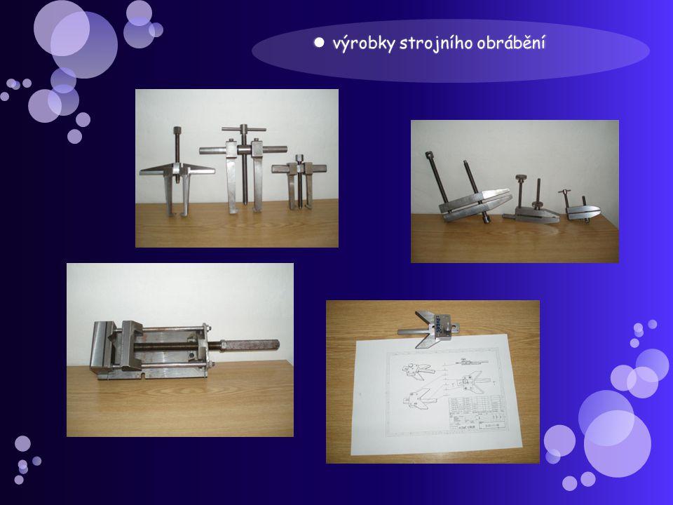 výrobky strojního obrábění