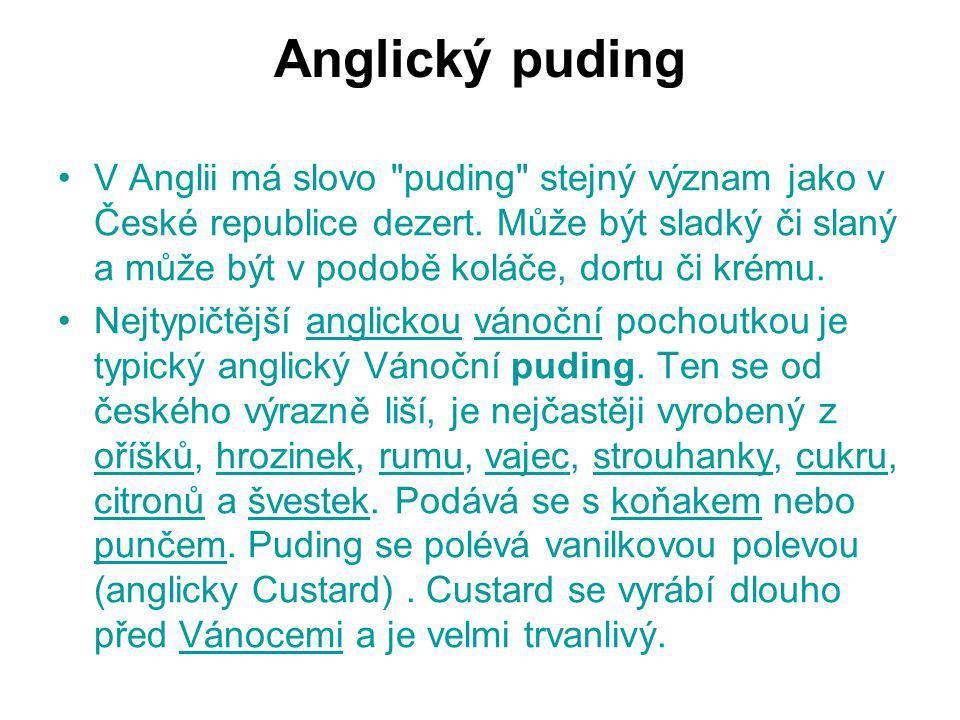 Anglický puding