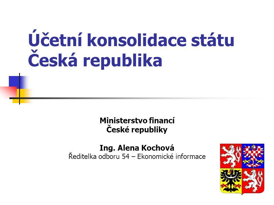 Účetní konsolidace státu Česká republika