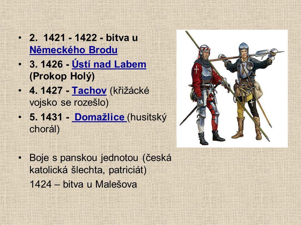 2. 1421 - 1422 - bitva u Německého Brodu