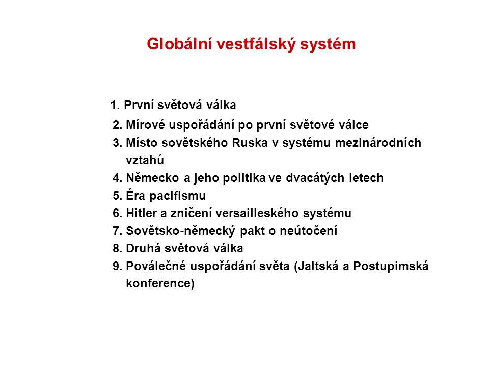 Globální vestfálský systém