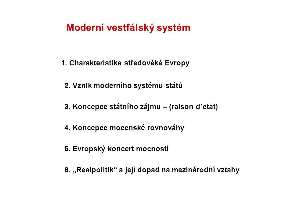 Moderní vestfálský systém
