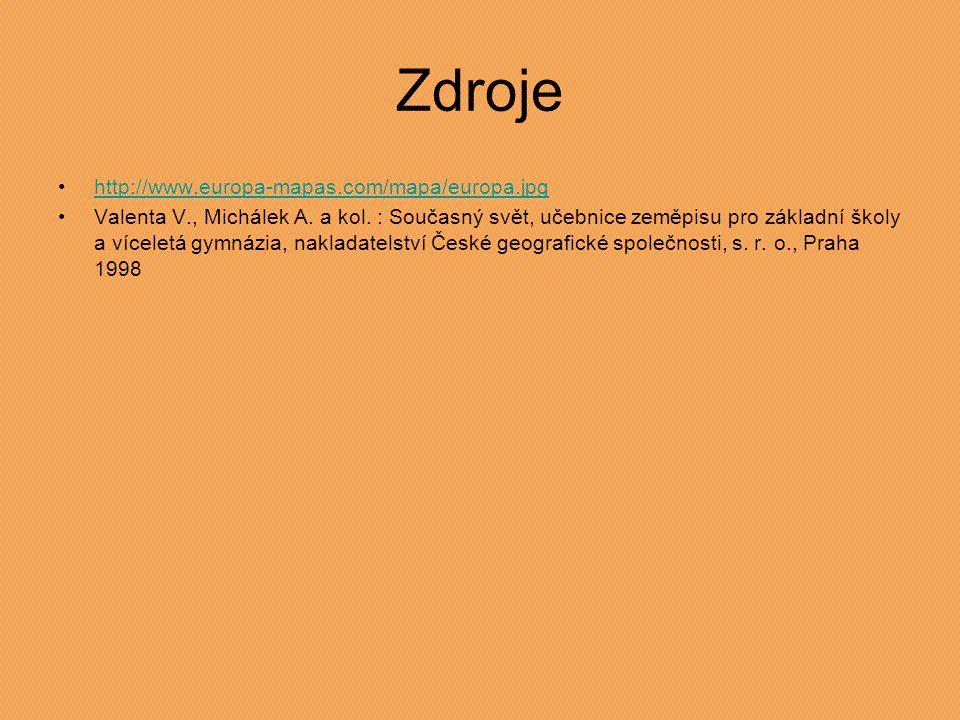 Zdroje http://www.europa-mapas.com/mapa/europa.jpg