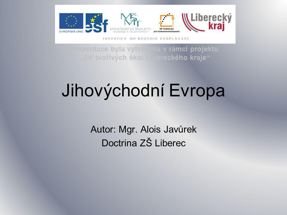 Autor: Mgr. Alois Javůrek Doctrina ZŠ Liberec
