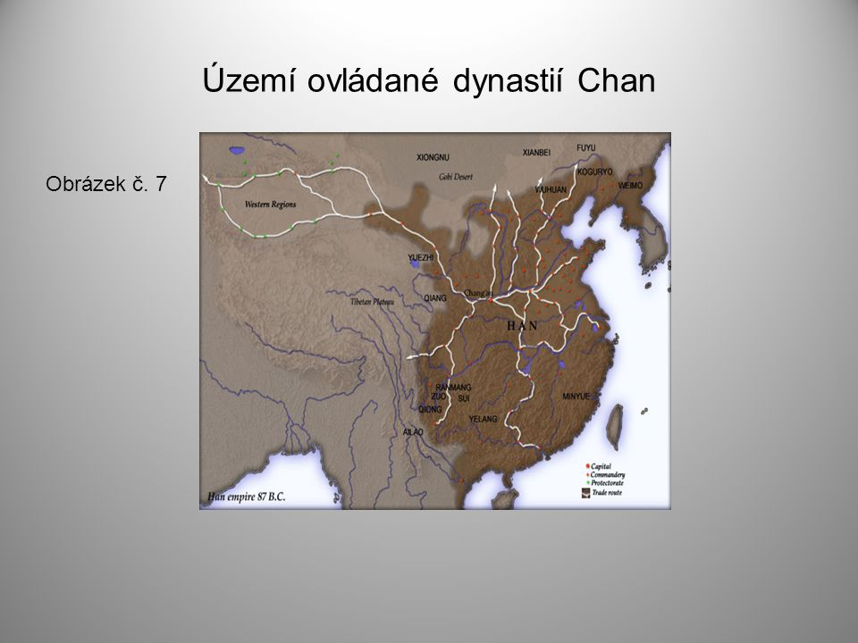 Území ovládané dynastií Chan