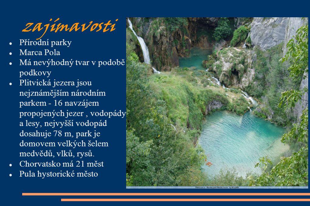 zajímavosti Přírodní parky Marca Pola