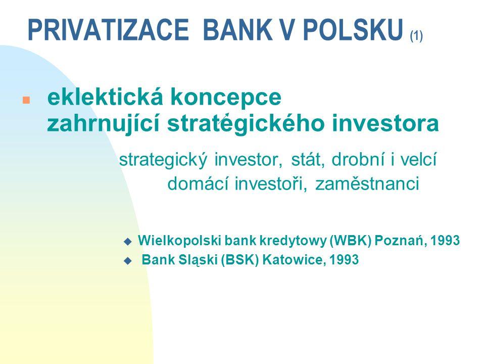 PRIVATIZACE BANK V POLSKU (1)