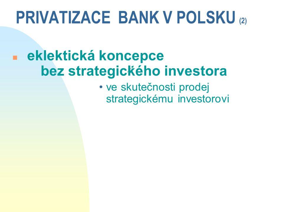 PRIVATIZACE BANK V POLSKU (2)