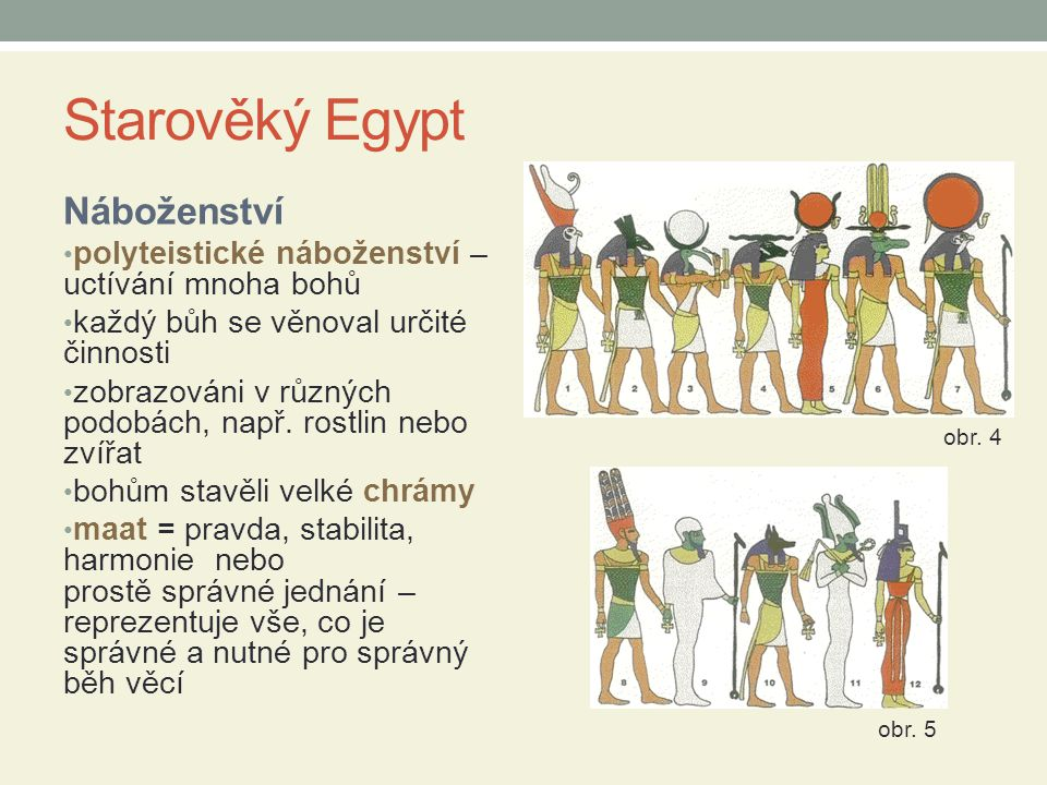 Starověký Egypt Náboženství