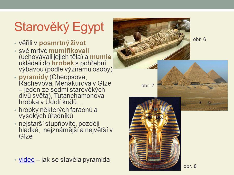 Starověký Egypt věřili v posmrtný život