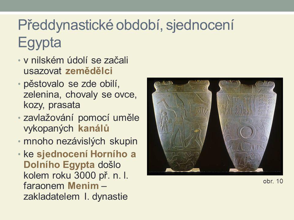 Předdynastické období, sjednocení Egypta