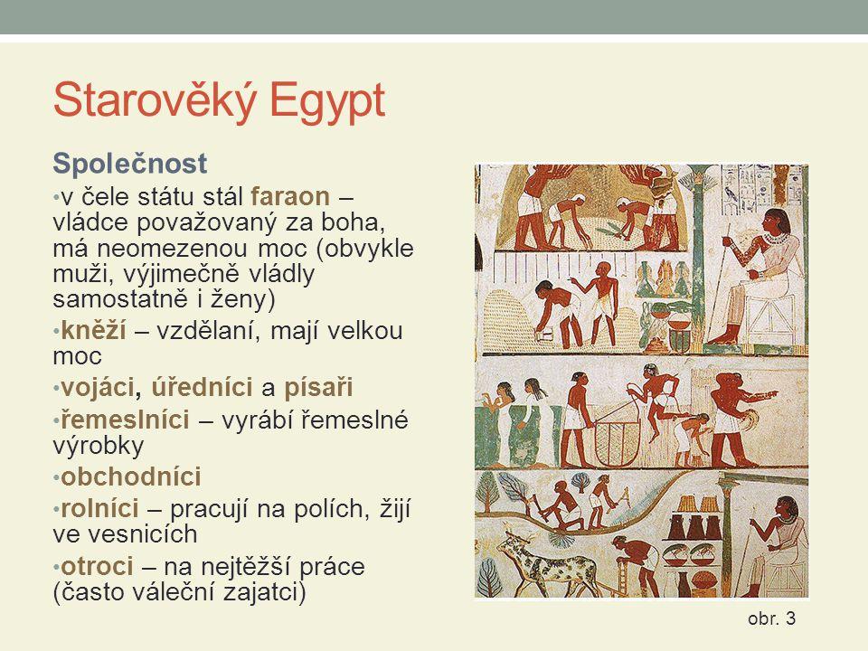 Starověký Egypt Společnost