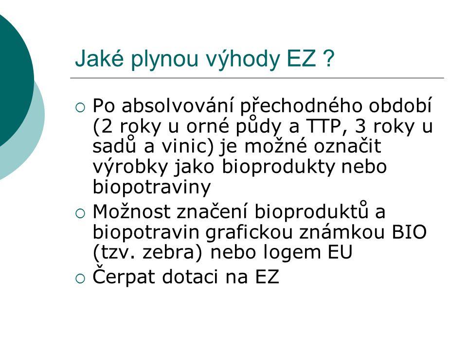 Jaké plynou výhody EZ