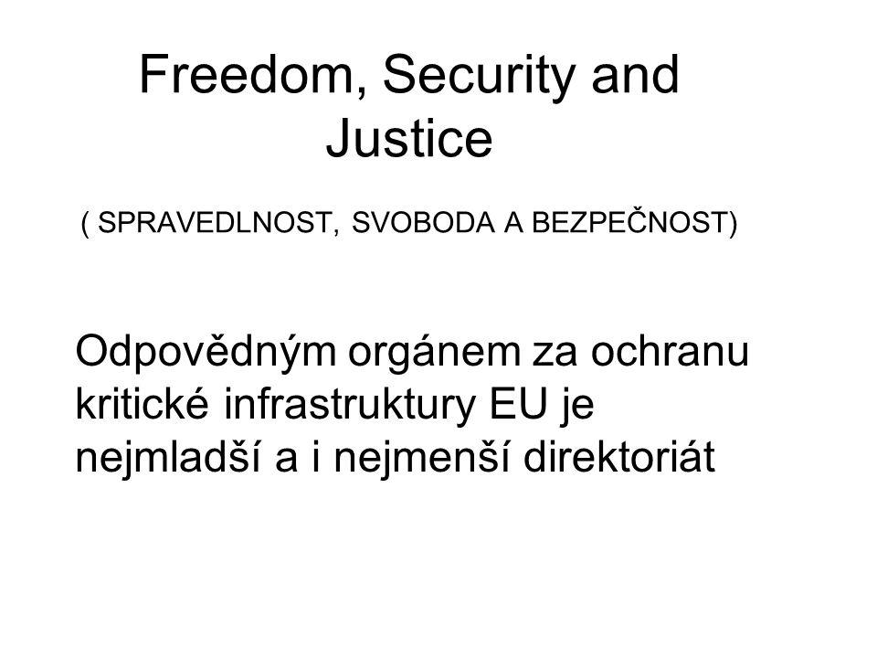 Freedom, Security and Justice ( SPRAVEDLNOST, SVOBODA A BEZPEČNOST)