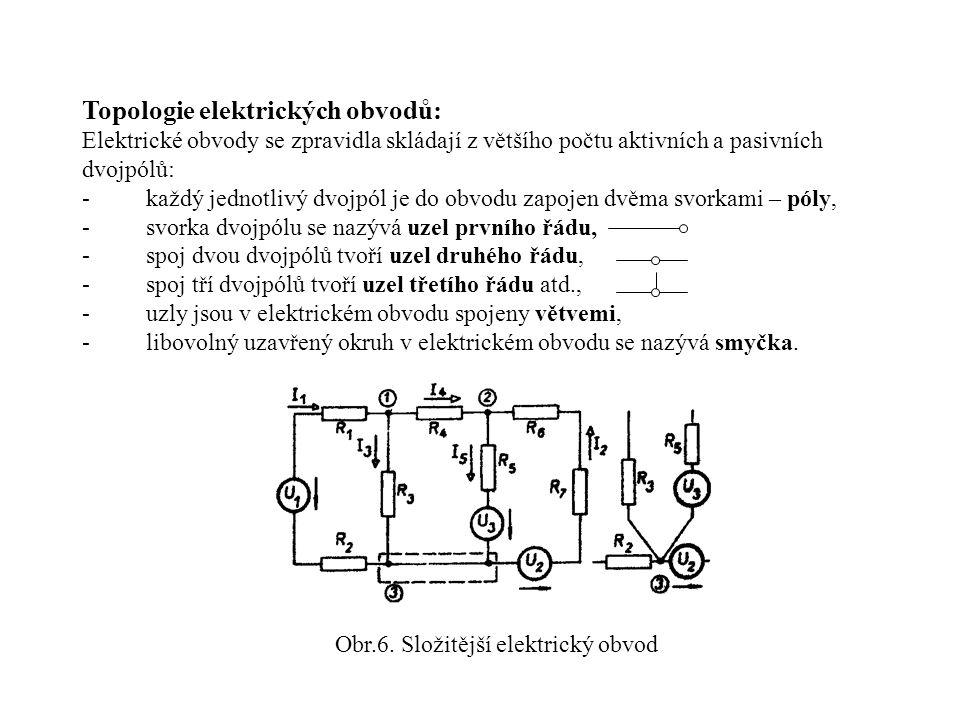 Obr.6. Složitější elektrický obvod