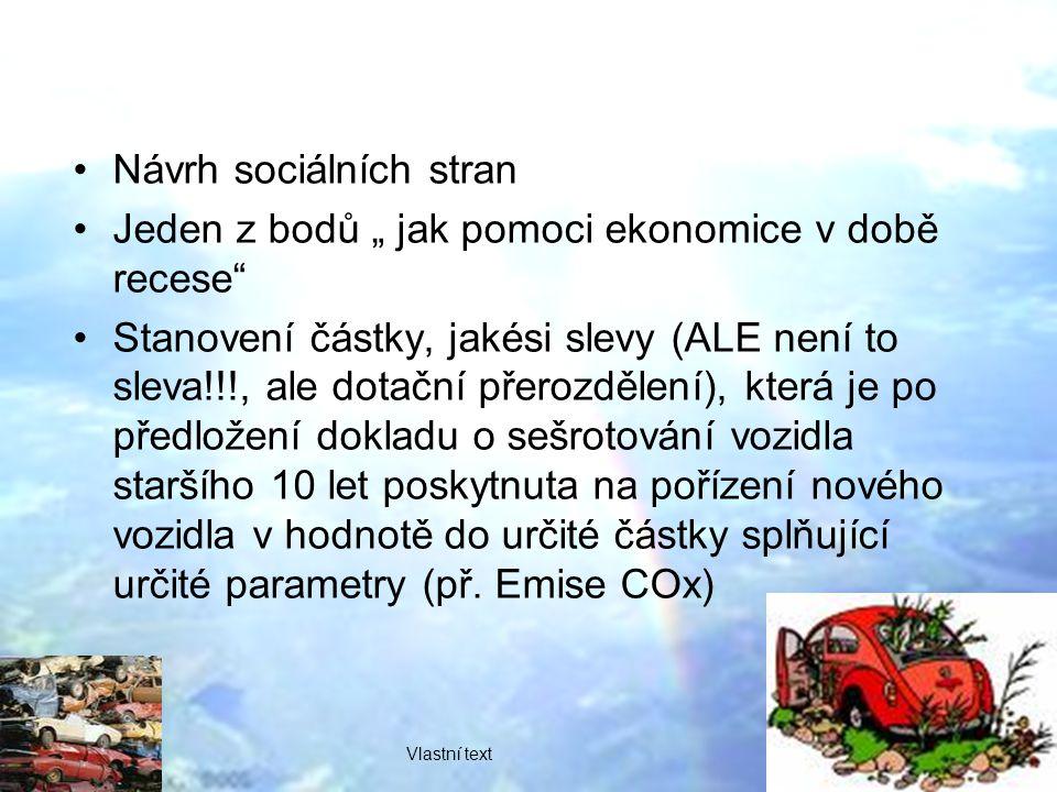 Návrh sociálních stran