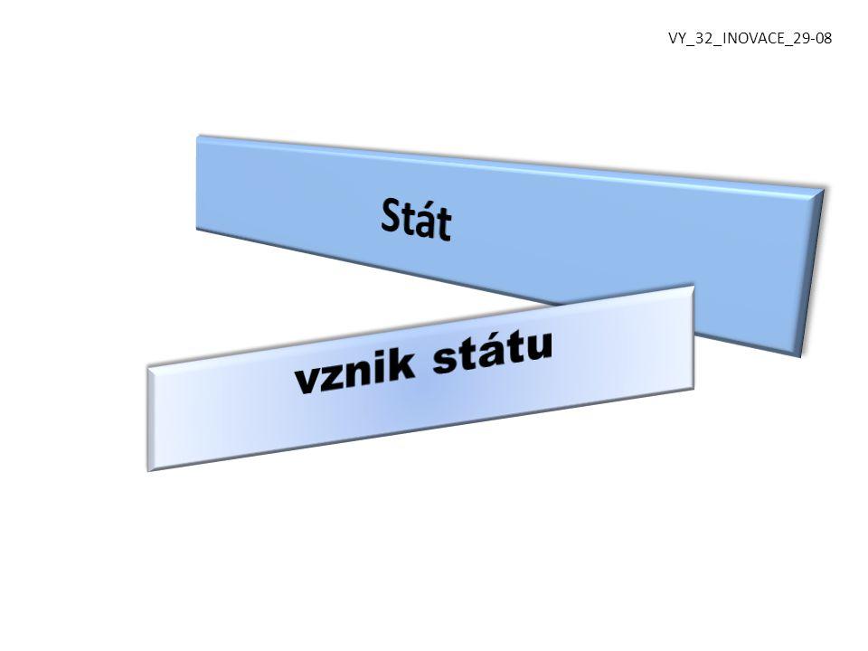 VY_32_INOVACE_29-08 Stát vznik státu