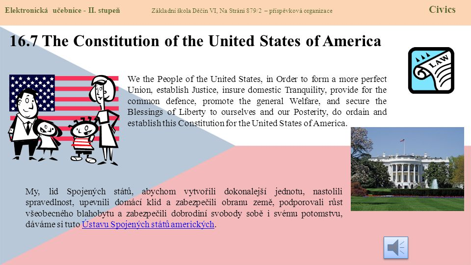 16.7 The Constitution of the United States of America