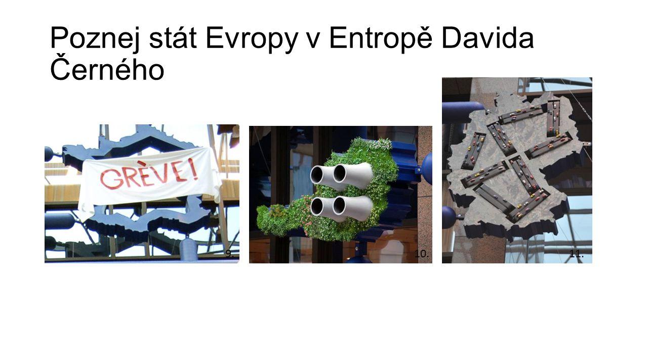 Poznej stát Evropy v Entropě Davida Černého